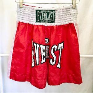 Vintage Everlast Boxing/Kickboxing Shorts Sz XL